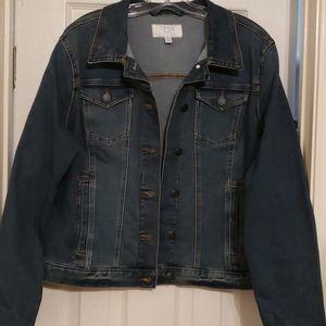 Time and Tru blue denim jacket NWOT sz XL